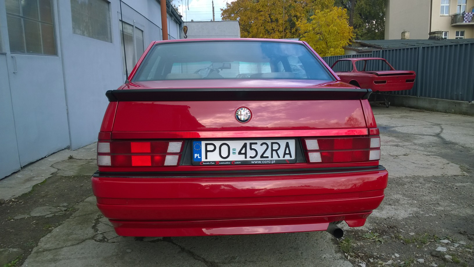 89 alfa romeo 75 3 0 v6 america   classic car restoration