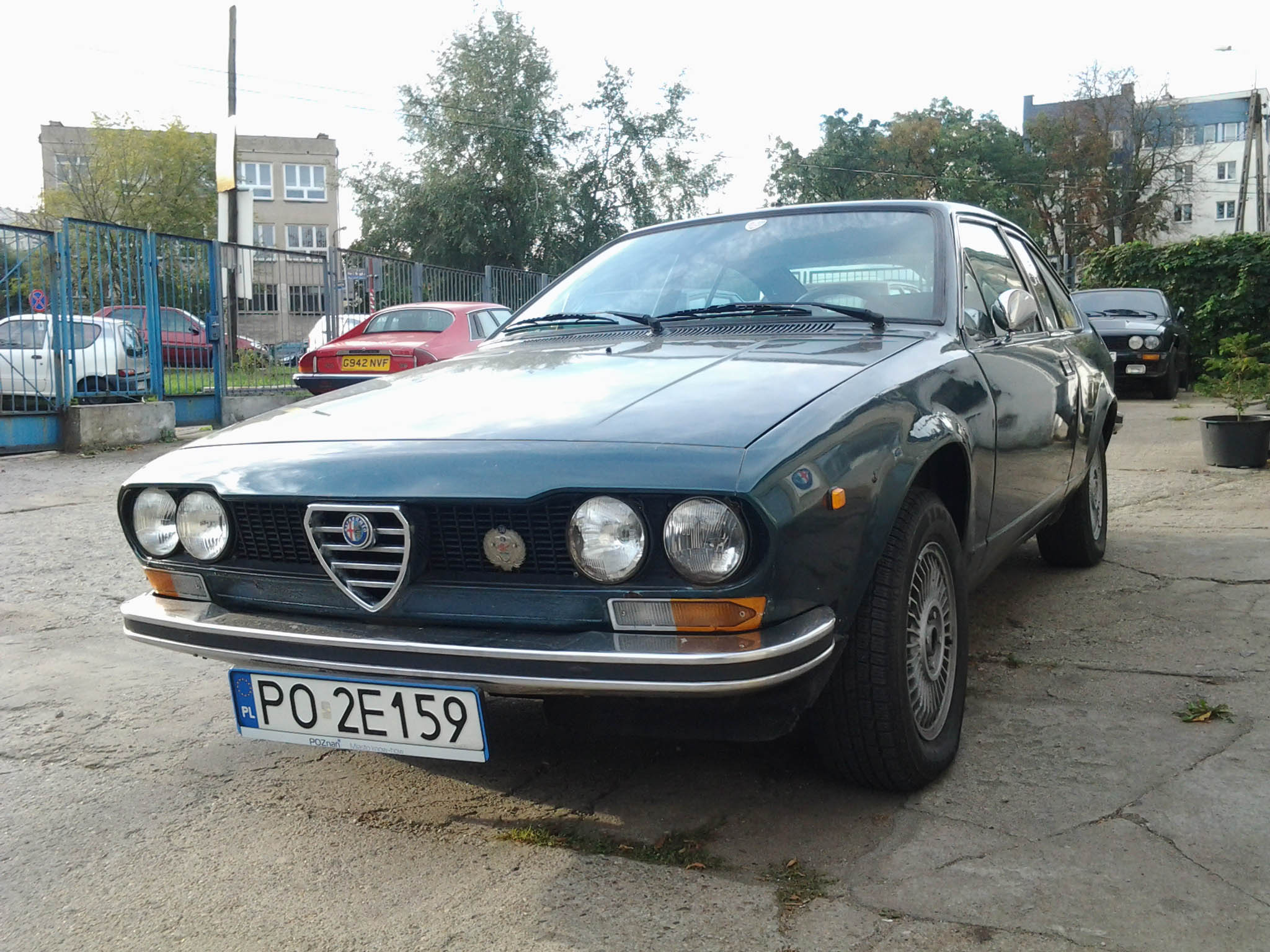 Car Show 2015 >> '74 Alfa Romeo Alfetta GT - Classic Car Restoration Center